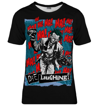 T-shirt damski Die Laughing