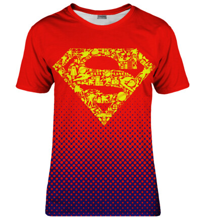 T-shirt damski Superman logo
