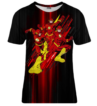 T-shirt damski The Flash