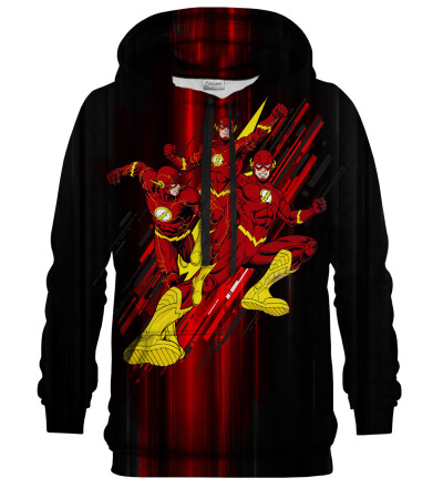 Printed Hoodie - The Flash