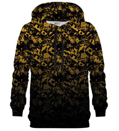 JL logo pattern hoodie