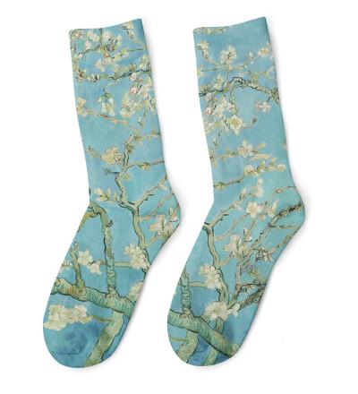 Almond Blossom Socks