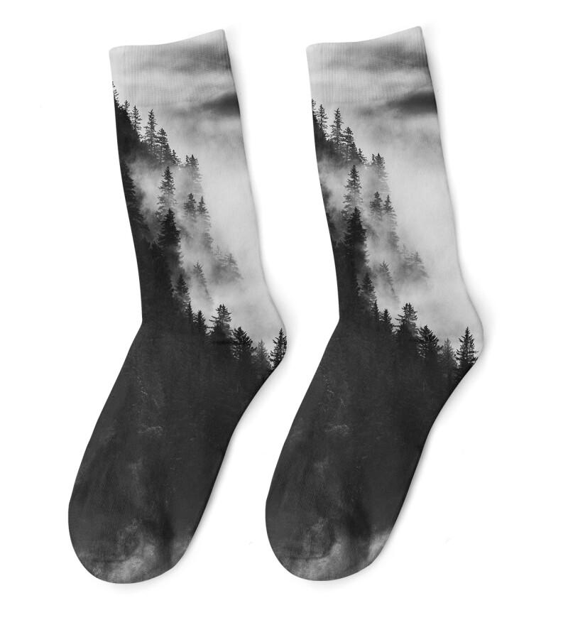 Dark Forest Socks