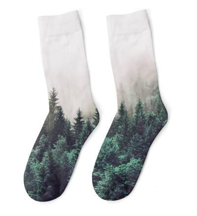 Foggy Forest Socks