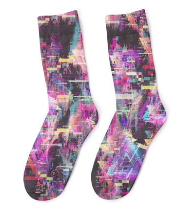 Total Glitch Socks