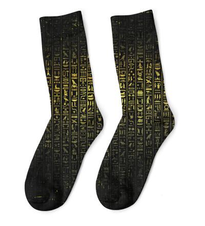 Hieroglyphs Socks
