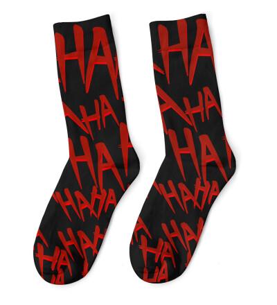 Just Hahaha Socks