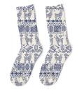Lama Pattern sokker