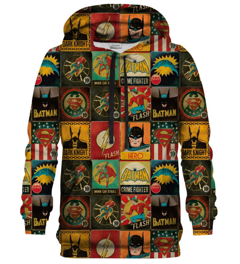 Super Heroes Wall hoodie