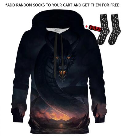 Bluza z kapturem Dragon Protector