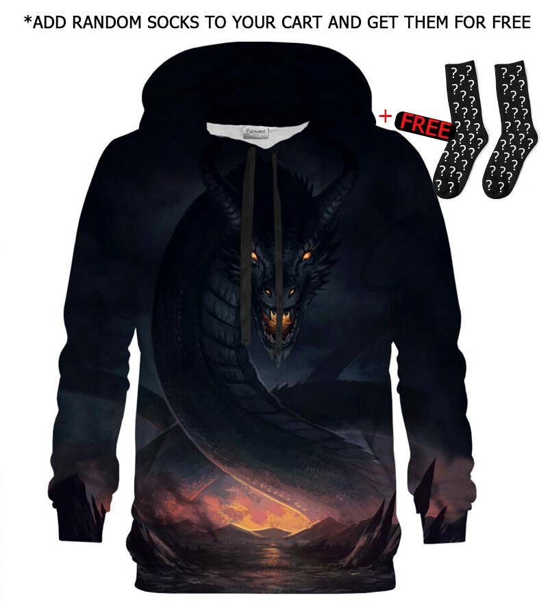 Printed Hoodie - Dragon Protector hoodie
