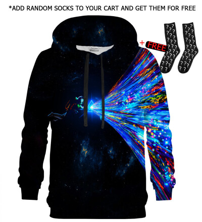 Printed Hoodie - Cosmic Creation