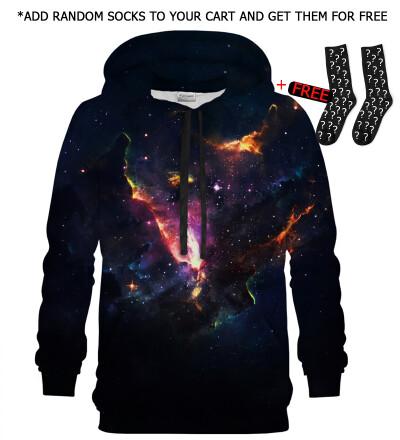Bluza z kapturem Galactic Beauty