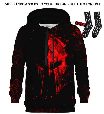 Bloody Spartan hoodie