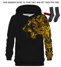 Polynesian Tiger Gold hoodie