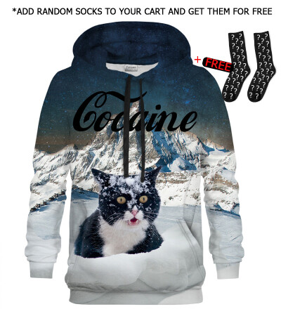 Bluza z kapturem Cocaine Cat