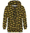 Batman logo pattern hoodie, Licensed Product of Warner Bros. Pictures