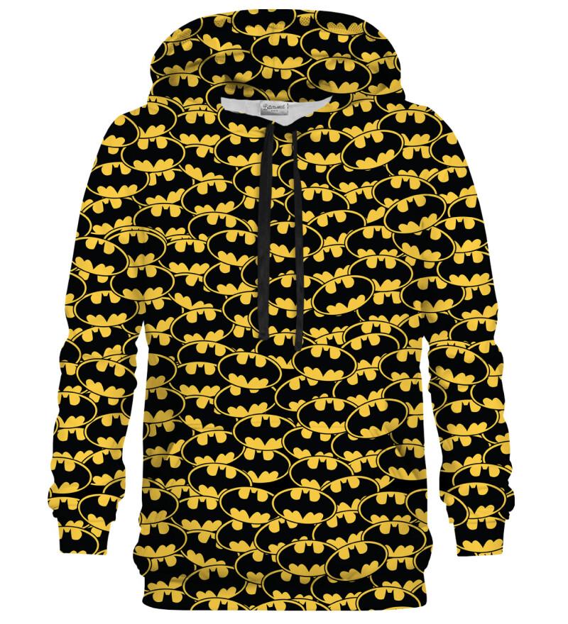 Batman logo pattern hoodie