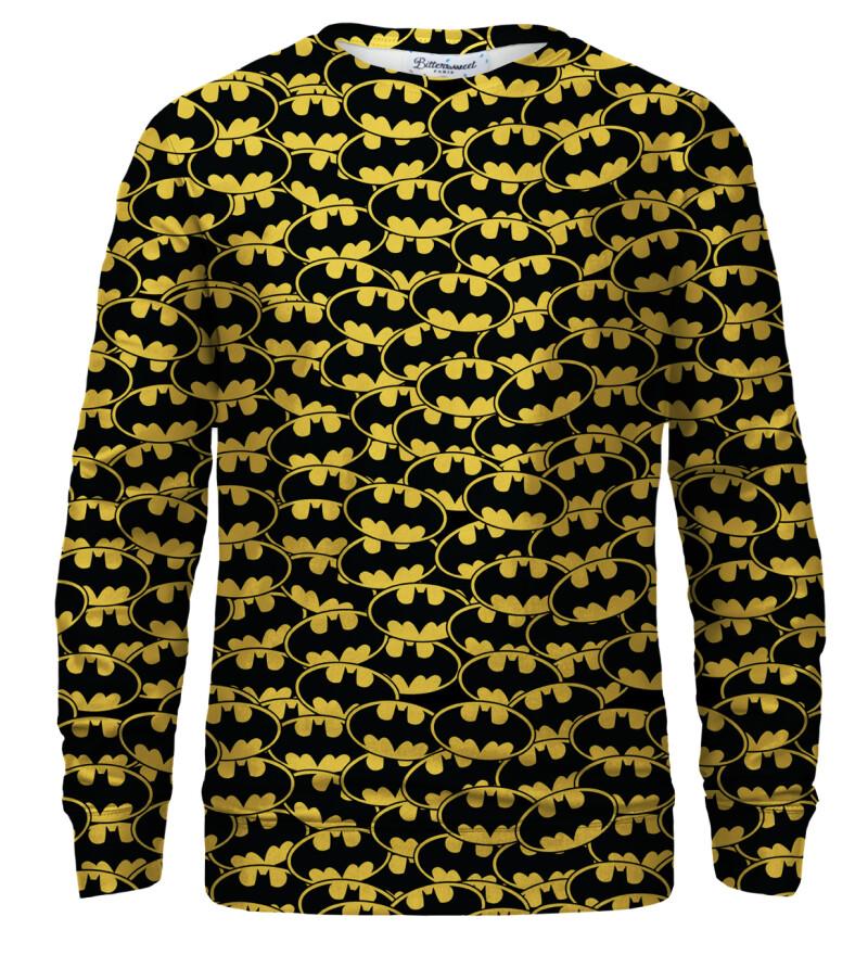 Batman logo pattern sweatshirt