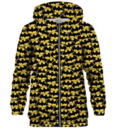 Bluza z zamkiem Batman logo pattern