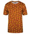 T-shirt Superman logo pattern, Produkt na licencji Warner Bros. Pictures