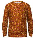 Bluza Superman logo pattern, Produkt na licencji Warner Bros. Pictures