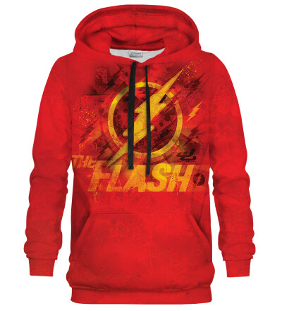 Bluza z kapturem The Flash logo