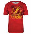 T-shirt The Flash logo, Produkt na licencji Warner Bros. Pictures