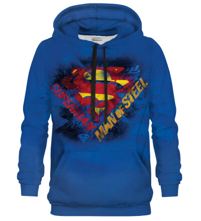 Bluse med hætte - Superman new logo