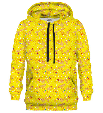 Bluza z kapturem Tweety pattern