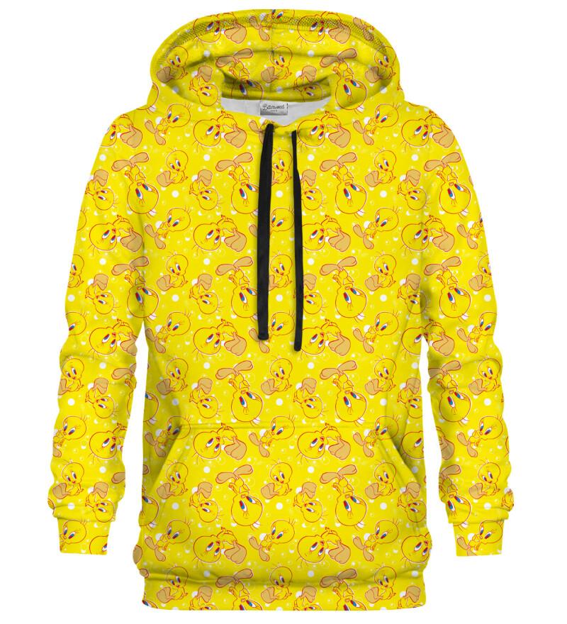 Tweety pattern hoodie