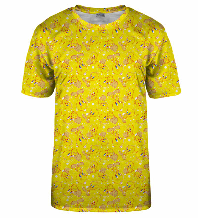 Tweety pattern t-shirt