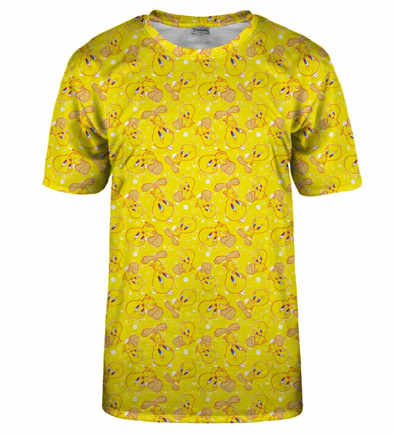 Tweety pattern t-shirt