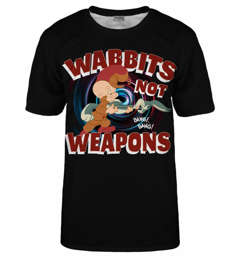 Wabbits no weapons t-shirt