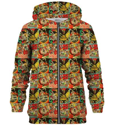 Looney Tunes show zip up hoodie
