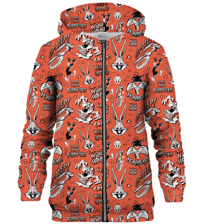 Looney Tunes zip up hoodie