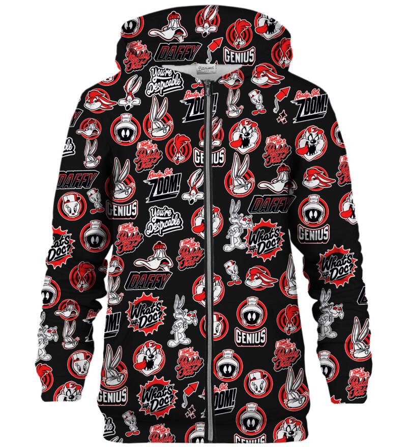 Looney Tunes punk zip up hoodie