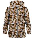 Tasmanian Devil zip up hoodie, Licensed Product of Warner Bros. Pictures
