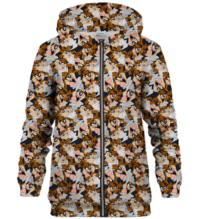 Tasmanian Devil zip up hoodie