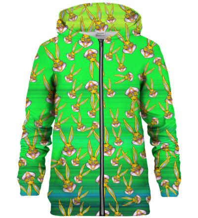 Bluza z zamkiem Bugs pattern