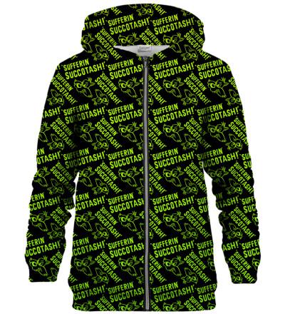 Sufferin Succotash zip up hoodie