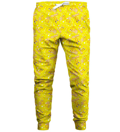 Tweety pattern joggingbukser
