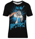 Oh no hipsters womens t-shirt, Licensed Product of Warner Bros. Pictures