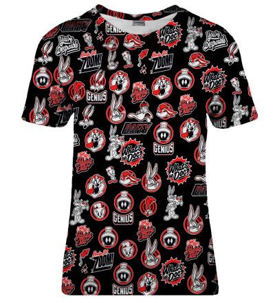 Looney Tunes punk womens t-shirt