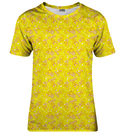 Tweety pattern womens t-shirt