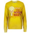 Who is nice womens sweatshirt, Licensed Product of Warner Bros. Pictures