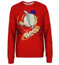 Beep Beep womens sweatshirt, Licensed Product of Warner Bros. Pictures