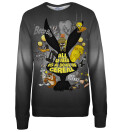 Bowl of cereal womens sweatshirt, Licensed Product of Warner Bros. Pictures