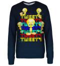 Tweety womens sweatshirt, Licensed Product of Warner Bros. Pictures