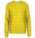 Tweety pattern womens sweatshirt, Licensed Product of Warner Bros. Pictures